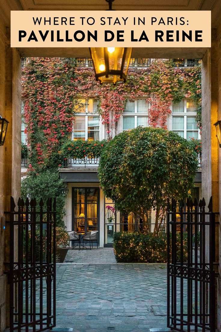 Heading to Paris and wondering where to stay? Pavillon de la Reine is a beautiful five-star gem located in Place des Vosges in lively and trendy le Marais.