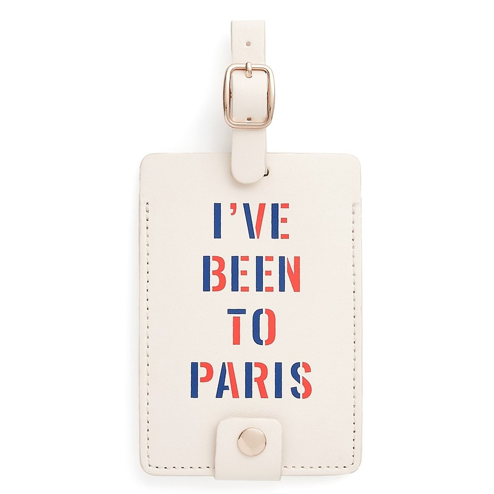 I've been to Paris luggage tag.jpeg