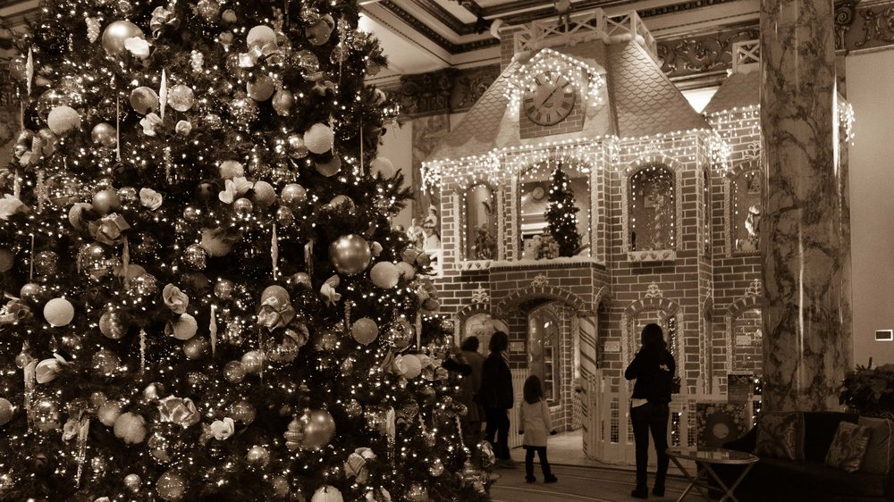 Holidays at The Fairmont San Francisco