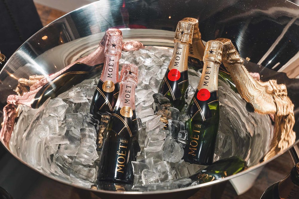 The Moët & Chandon-inspired Sparkle Suite at the Fairmont San Francisco