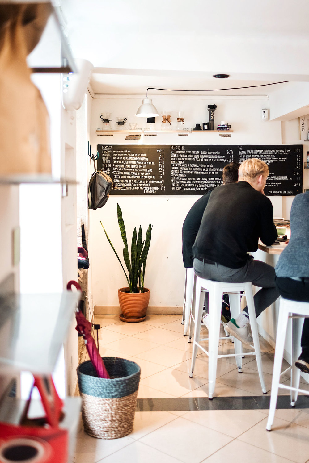 Copenhagen Coffee Lab is a Copenhagen-based coffee shop in Lisbon, Portugal