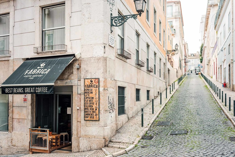 The best coffee spots and cafes in Lisbon, Portugal