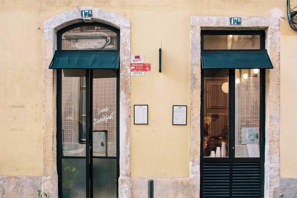 Dear Breakfast in Lisbon, Portugal