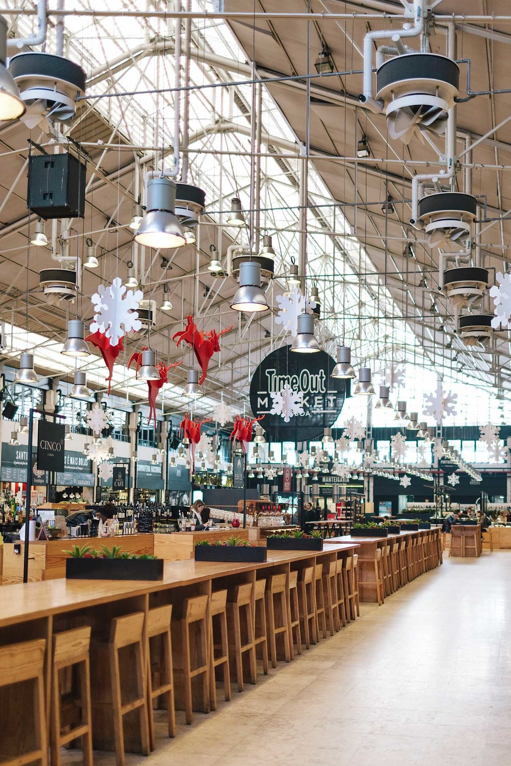 Lisbon's Time Out Market: if it's good it goes in the magazine, and if it's great it goes on to the market