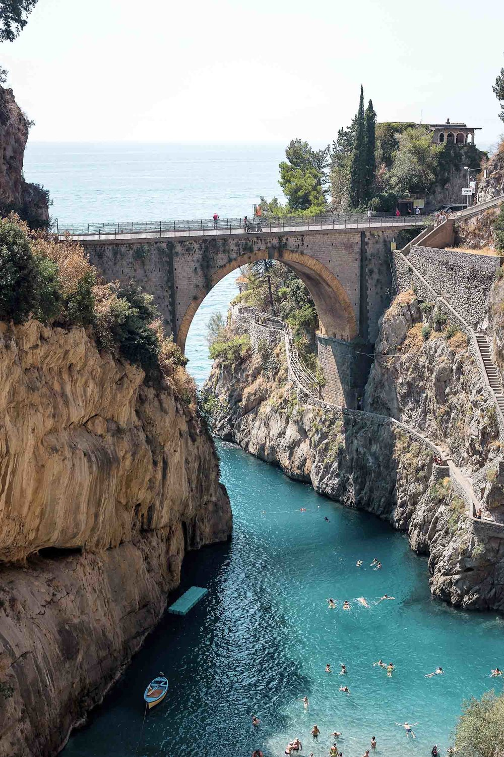 Amalfi Coast Itinerary - no trip is complete with a visit to Furore!