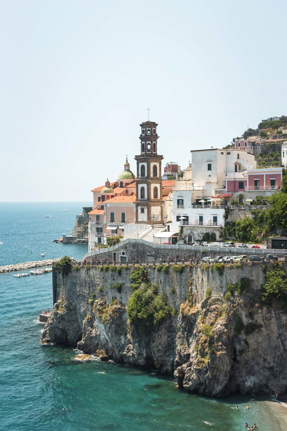 Views of Amalfi on Italy's Amalfi Coast
