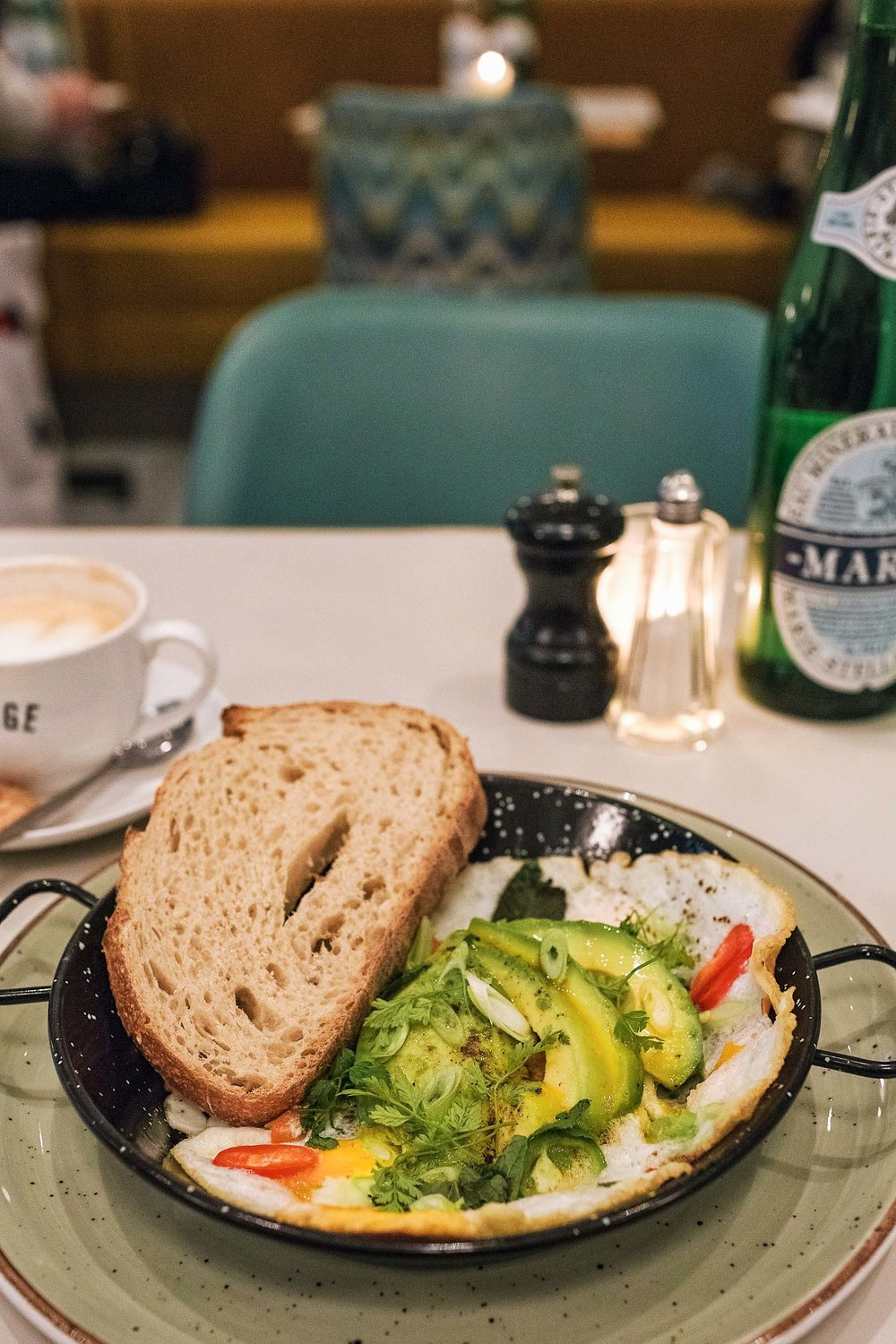 The best brunch in Amsterdam - Cafe Georgette