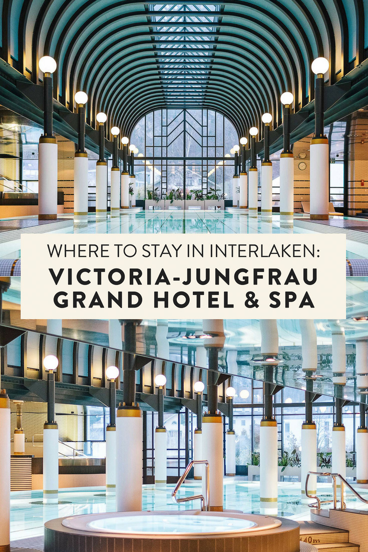 The VICTORIA-JUNGFRAU Grand Hotel & Spa is a jaw-dropping, 5 star hotel located in Interlaken, Switzerland. If you are looking for a place to stay in the Jungfrau Region, look no further!
