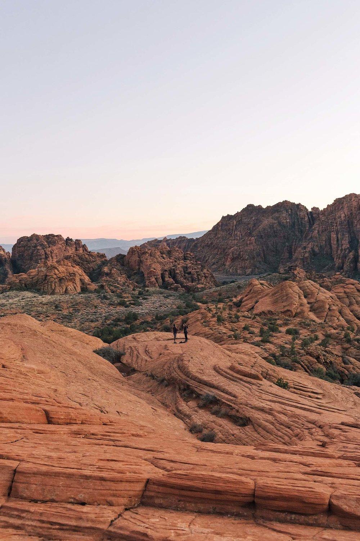 Petrified Dunes at Snow Canyon National Park
