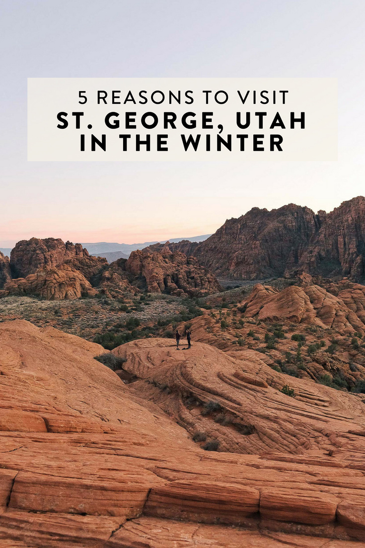 Winter in St. George consists of mild weather, blue skies, sunshine, and a lack of crowds. If you have plans to head to Southern Utah, here's why it is the season I recommend visiting in!