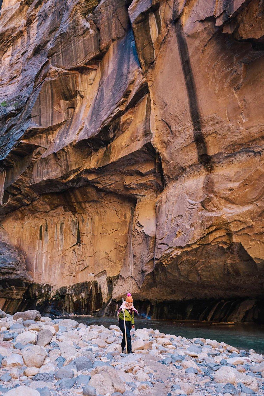 Hiking the Narrows in St. George, Utah