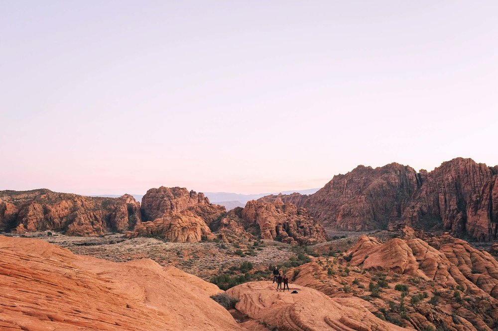 Snow Canyon National Park in St. George, Utah