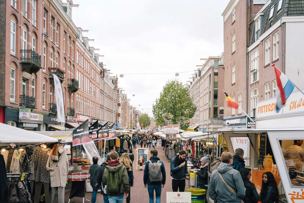 Looking for unique things to do in Amsterdam? Visit this market