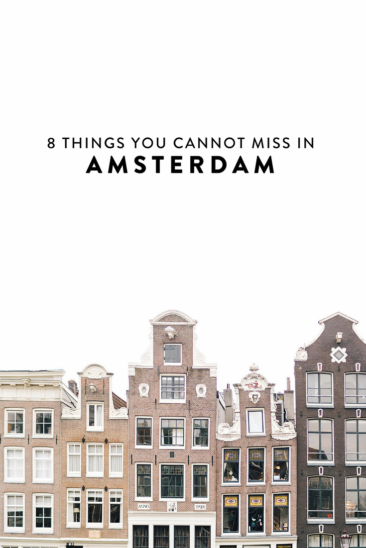 Heading to Amsterdam and wondering what to do? I have narrowed down my list to 8 things you absolutely cannot miss! The best non-cliche, off-the-beaten-path things to see, do, eat, and drink.