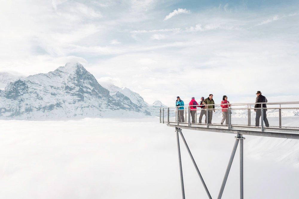 Amazing views from First Cliff Walk in Grindelwald, Switzerland. A great, easy adventure!