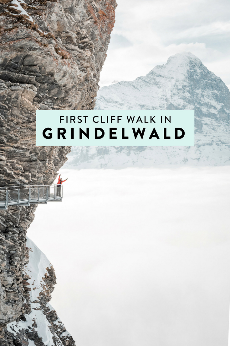 First Cliff Walk by Tissot is look out platform in Grindelwald, Switzerland in the Jungfrau Region in the canton of Bern. If you are looking for an Instagrammable adventure, this is it!