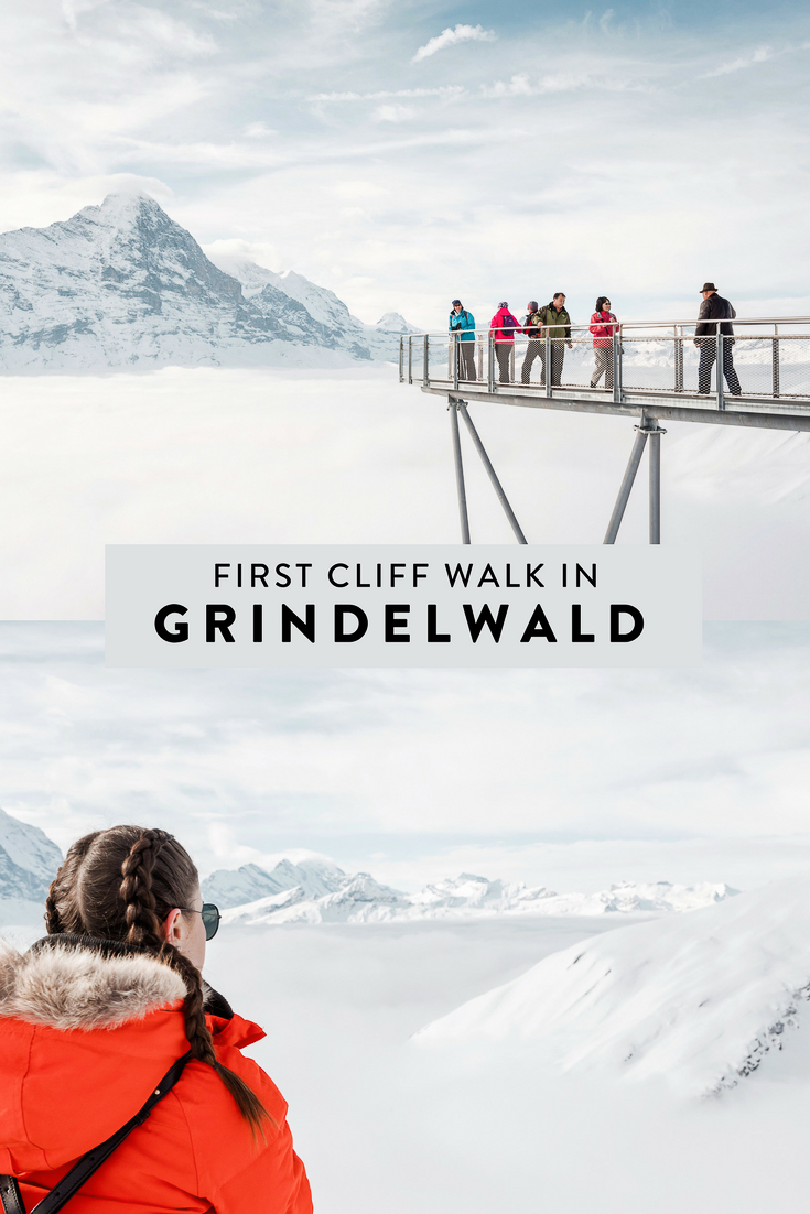 Grindelwald-First in the Jungfrau Region of Switzerland is called 'Top of Adventure' because it is full of fun! Not least of which is the Cliff Walk