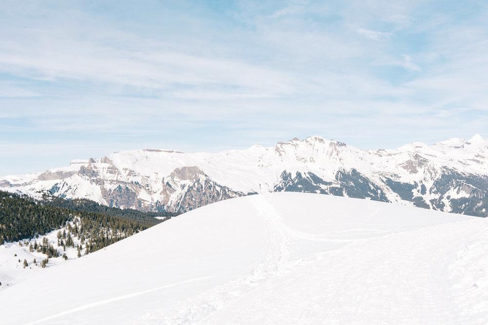 Winter adventures in Switzerland