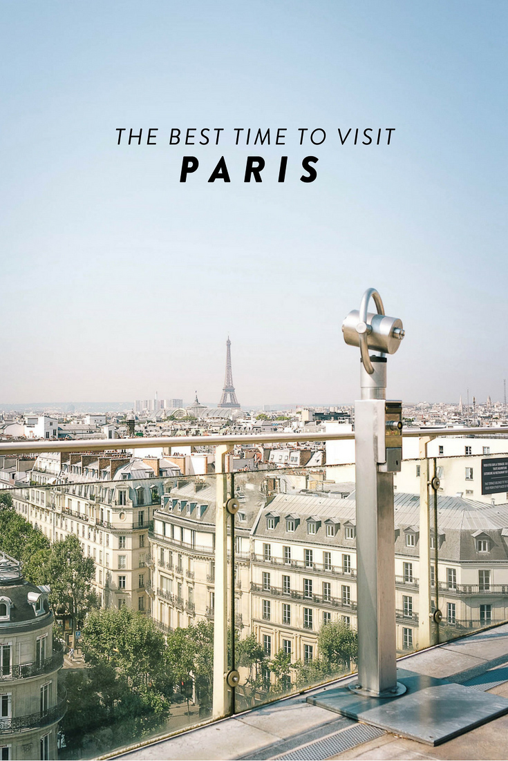 The best time to visit Paris? Here's a guide to visiting Paris, broken down by season and including noteworthy events/things to do in each!