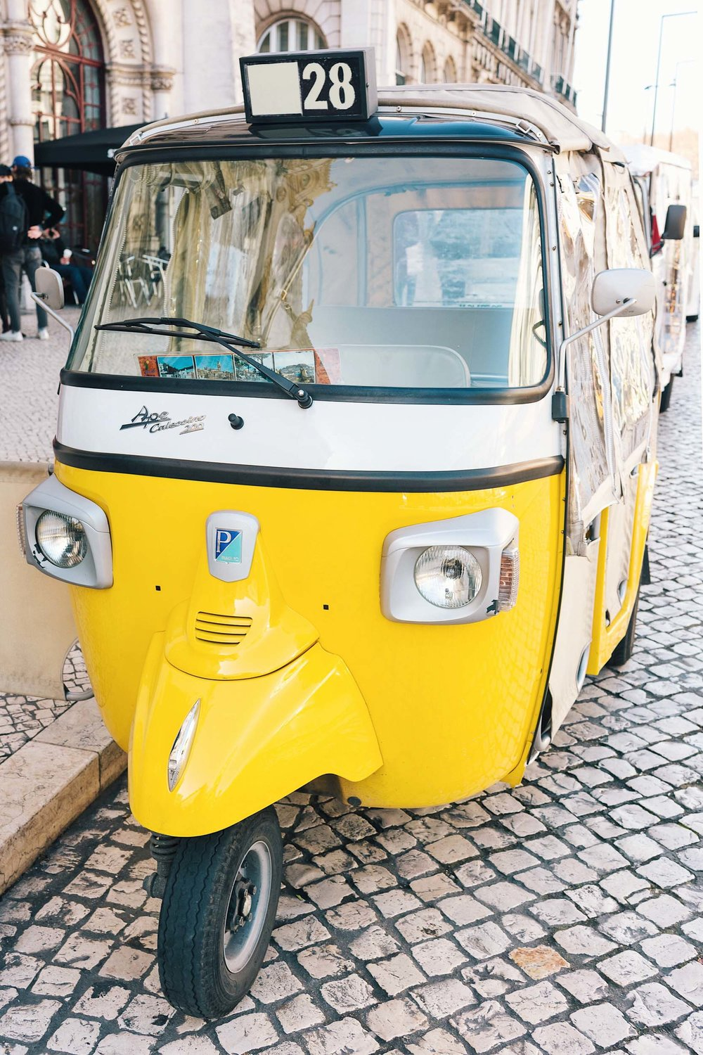 The best way to see Lisbon - via tuk tuk!