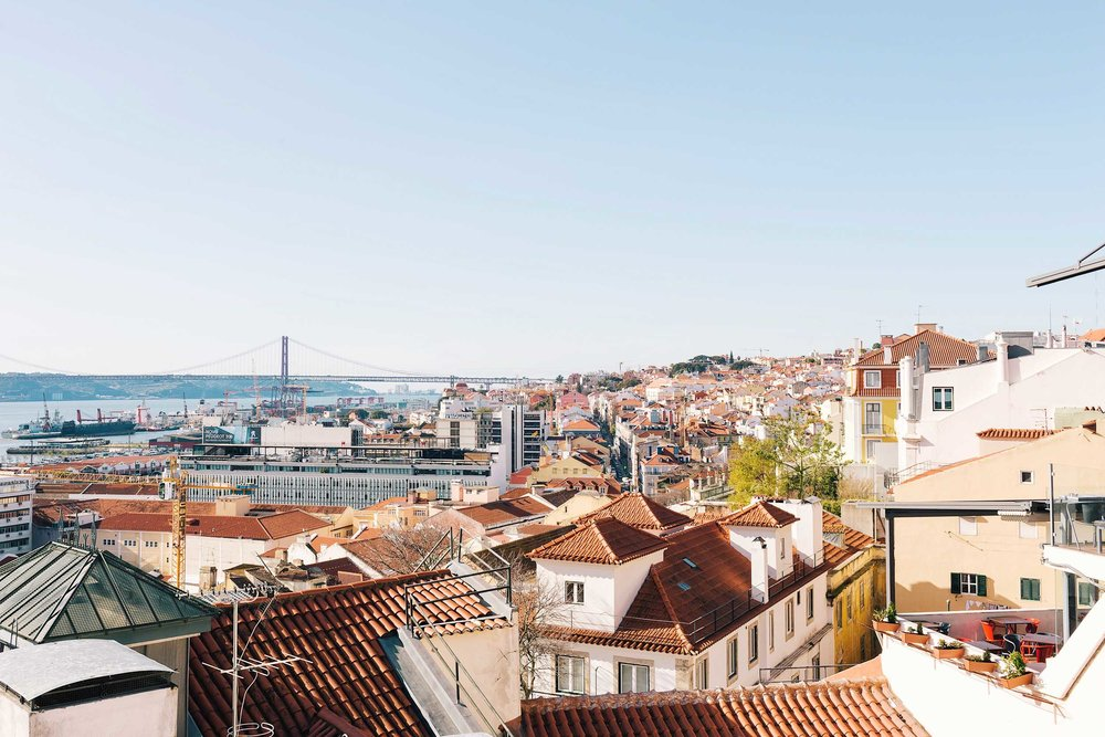 The prettiest view points in Lisbon