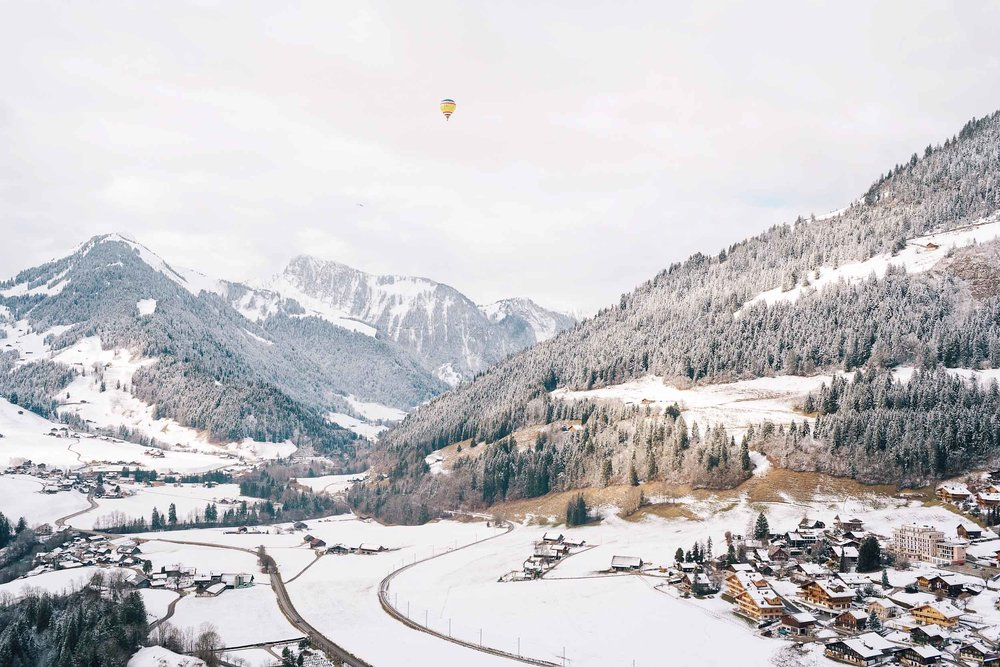 Winter adventures in Switzerland