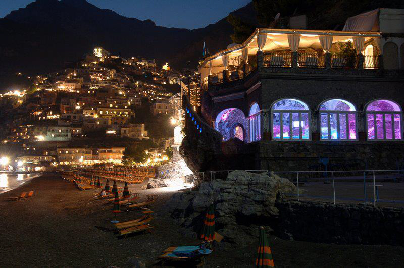 Music on the Rocks in Positano, a can't miss place!