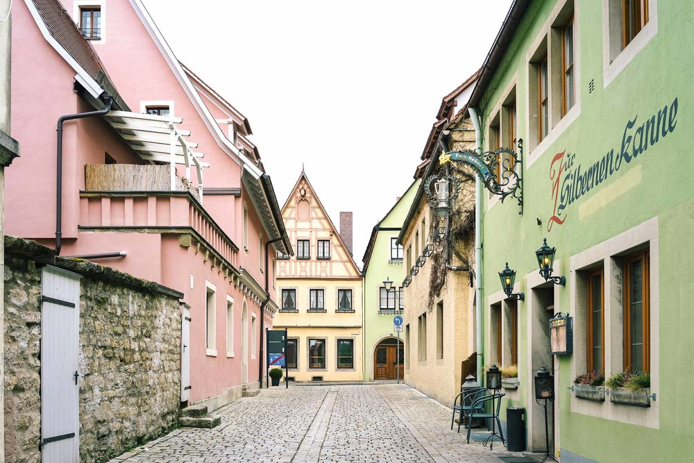 How to get to Rothenburg from Frankfurt
