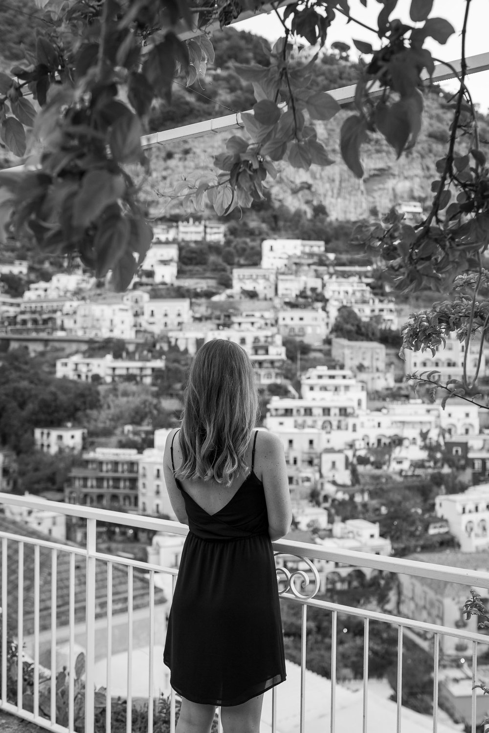 The prettiest views in Positano: Hotel Poseidon