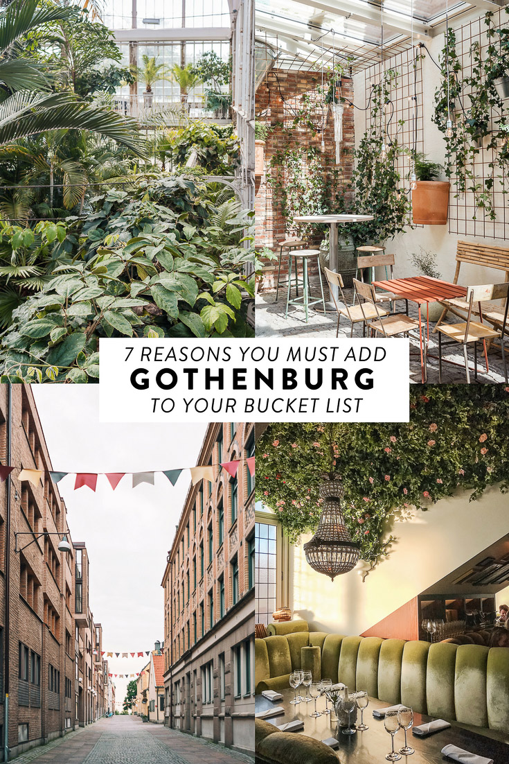 Haven't been to Gothenburg yet? Here are 7 reasons why you must add it to your bucket list. #gothenburg #sweden #westsweden #scandinavia