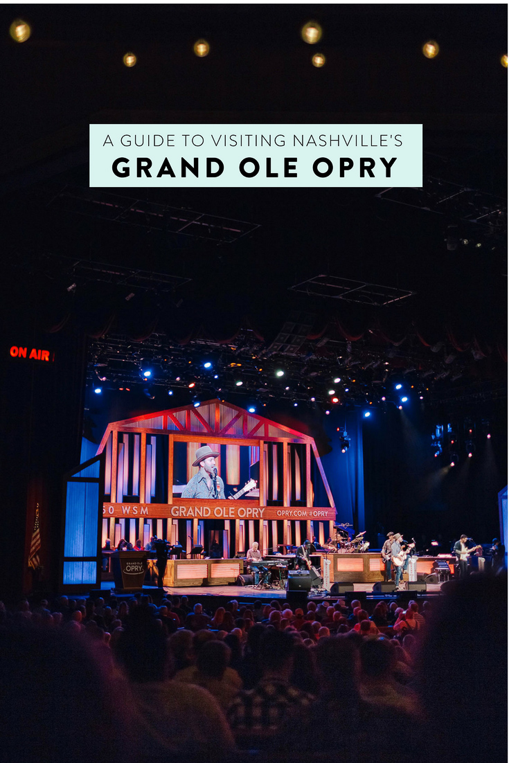 A guide to visiting the Grand Ole Opry in Nashville! Everything you need to know including an overview of the live shows, backstage tours, and streaming it from home.