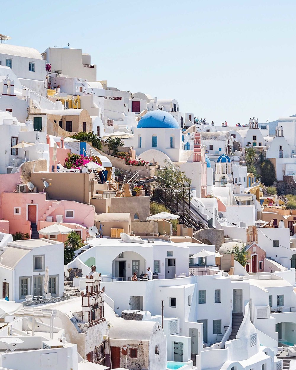 Photogenic Santorini, Greece