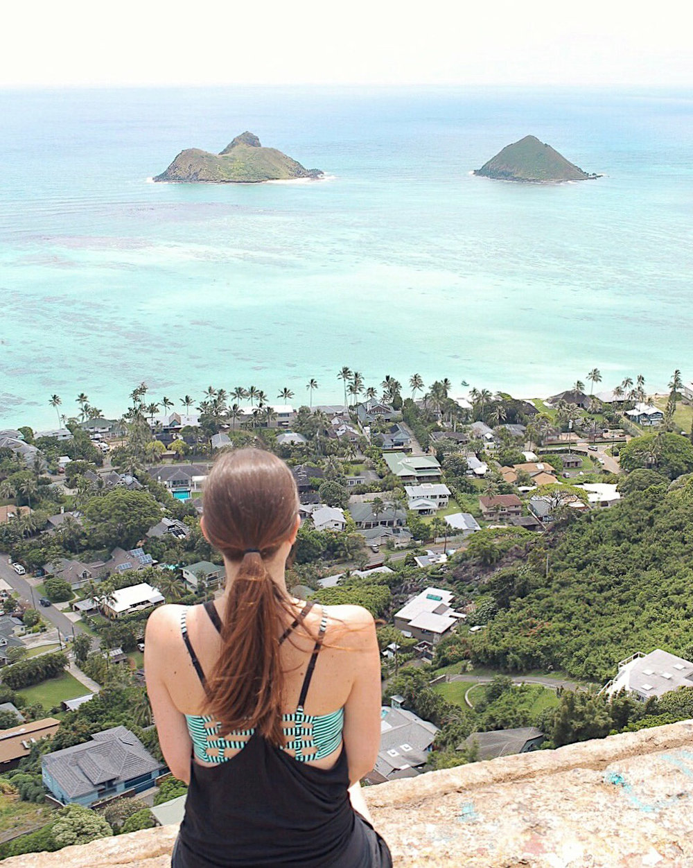 Views from the Lanikai Pillbox hike
