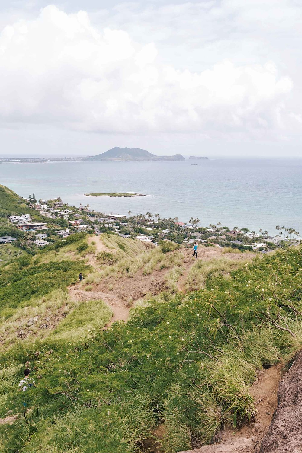 The Lanikai Pillbox hike is a great place to catch the sunrise Oahu