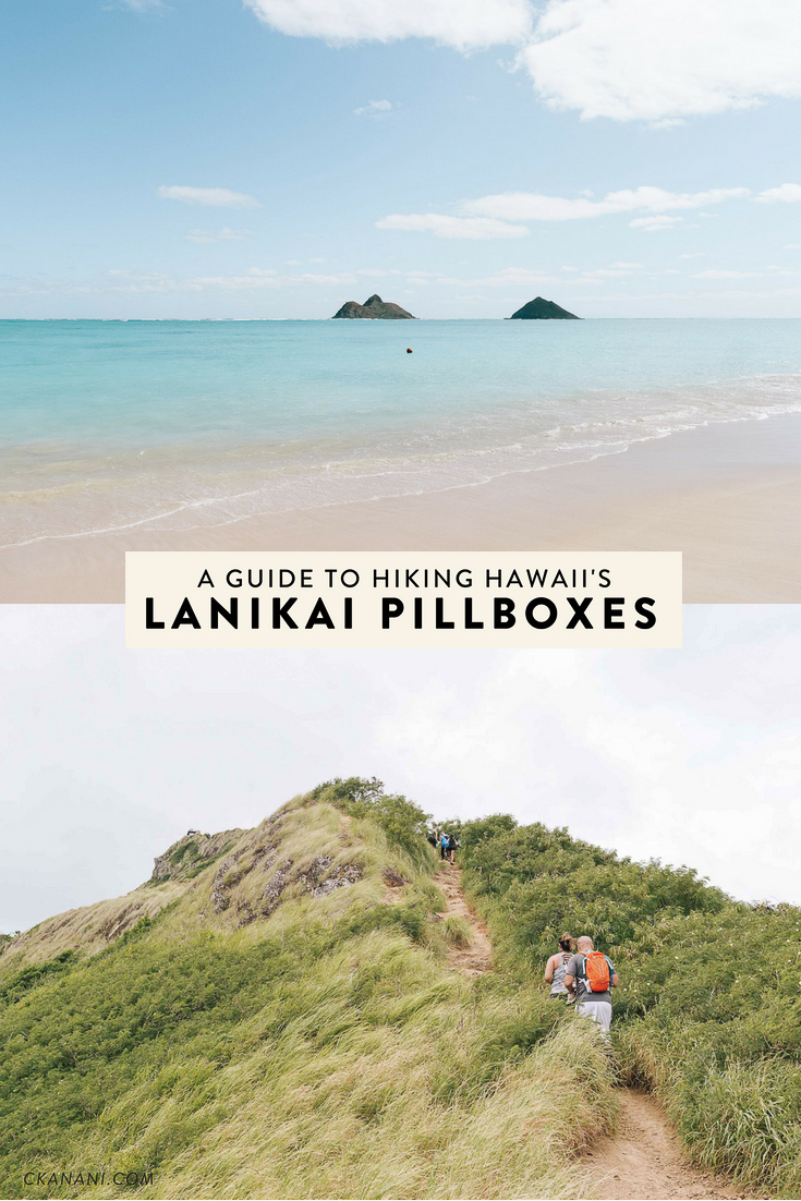 Everything you need to know about the Lanikai Pillbox hike above Lanikai Beach in Kailua on Hawaii's Oahu. It is a quick and easy hike with one of the most rewarding views on the island!