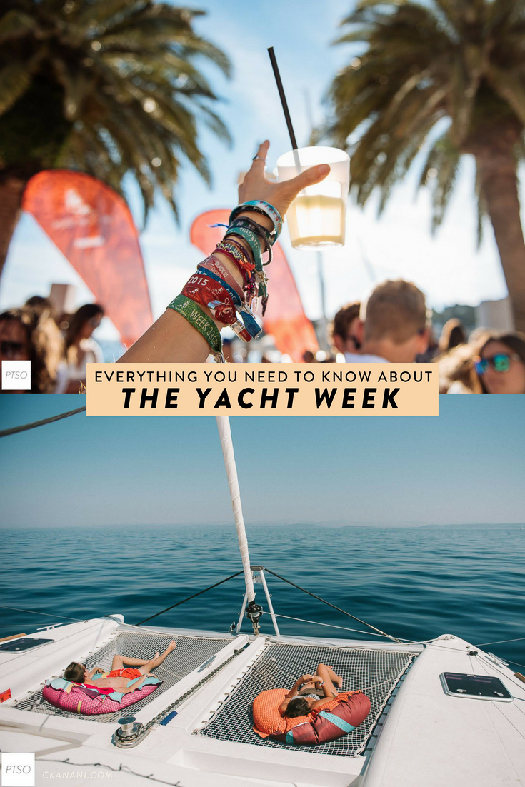 Thinking about going to the Yacht Week? Here is everything you need to know before you go including how it works, what you do, how much it costs, and more! #theyachtweek #tyw