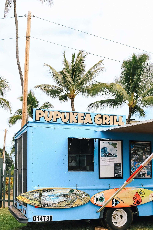 Pupukea Grill food truck in Pupukea