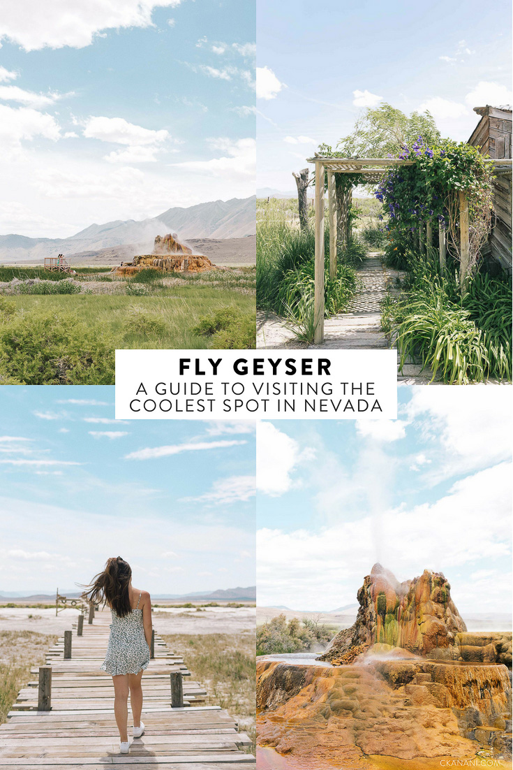 A guide to visiting Fly Geyser on Fly Ranch, a private property owned by Burning Man in the Black Rock Desert of Nevada. Learn how to get there, where to buy tickets, what to bring, wear, & more!