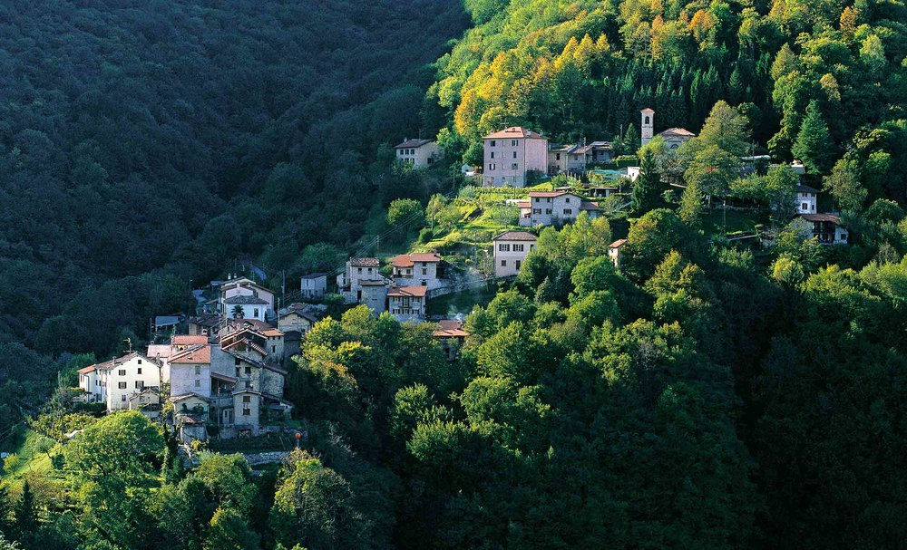 Campora in the Valle di Muggio, Switzerland's southernmost valley, Canton Ticino. Copyright by: Switzerland Tourism