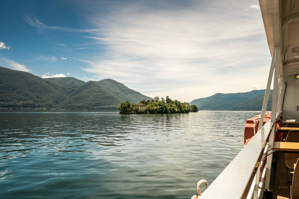 The, for Switzerland, unique mild climate on Lake Maggiore can thrive subtropical plants in the open air on the Brissago islands. Copyright by: Switzerland Tourism