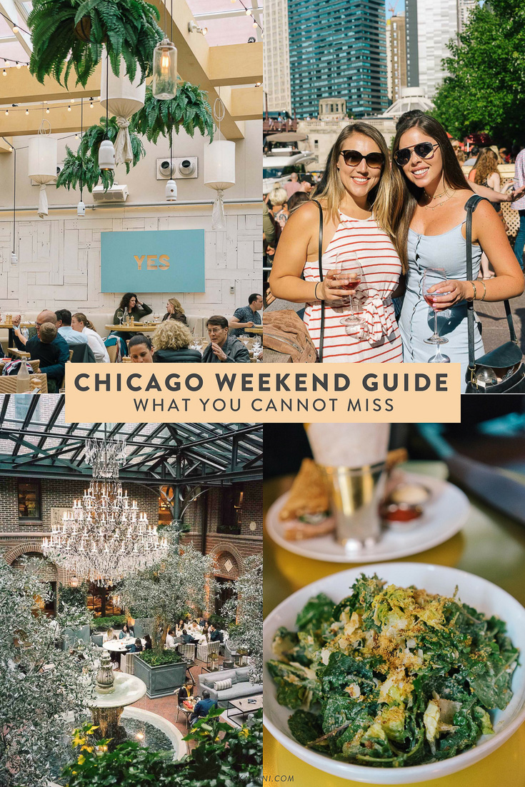 A Chicago weekend guide - what you cannot miss! Where to eat, what to do, and more. #chicago #cityguide #illinois