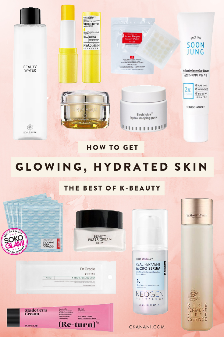 The best of k-beauty: how to get glowing, hydrated, flawless skin. How to create your own 10-Step Korean Beauty Routine at Soko Glam. #skincare #kbeauty #honeyskin #beauty