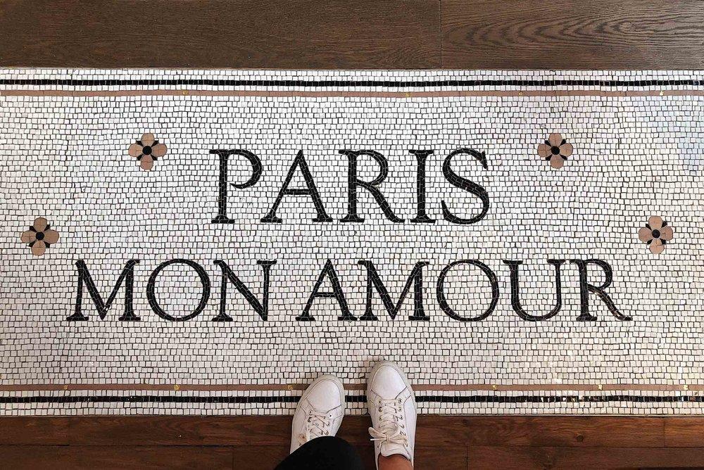 Paris mon amour! The most common language spoken in Paris is French