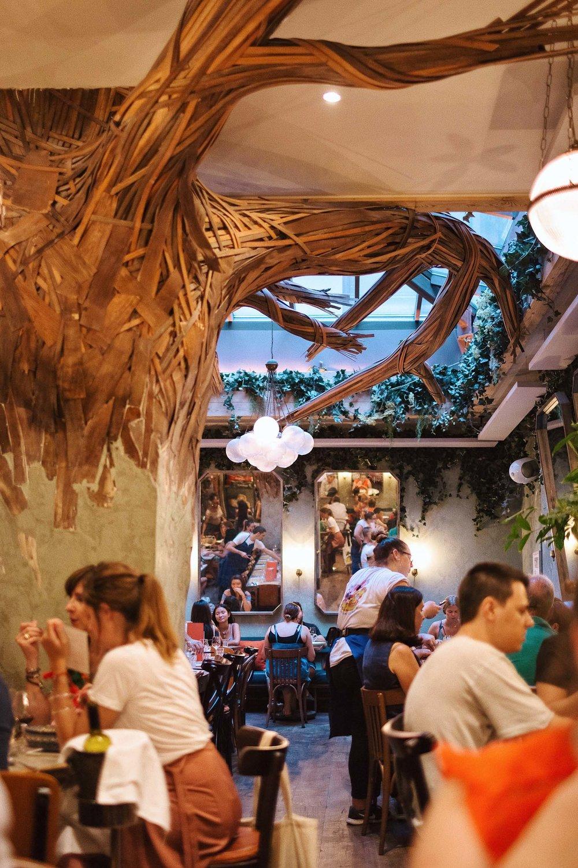 Ober Mamma Italian restaurant in Paris