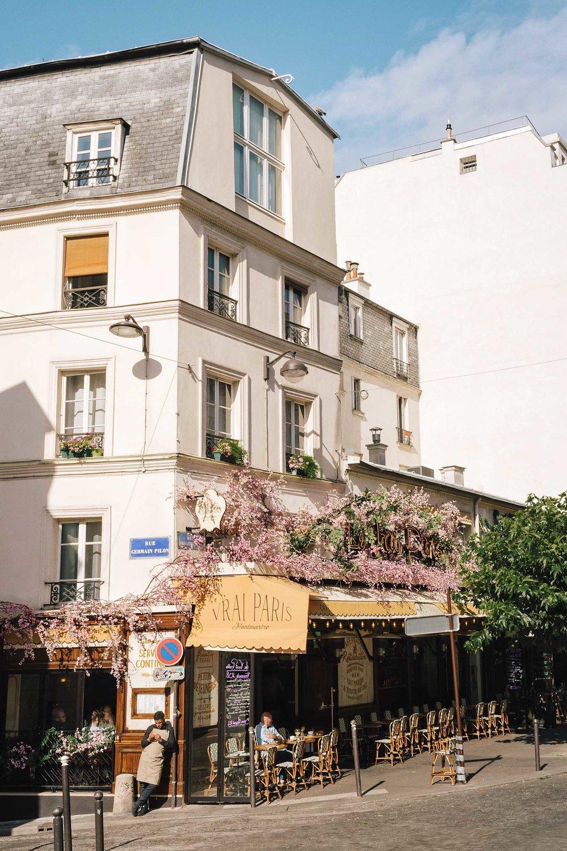 Sunshine in Montmarte