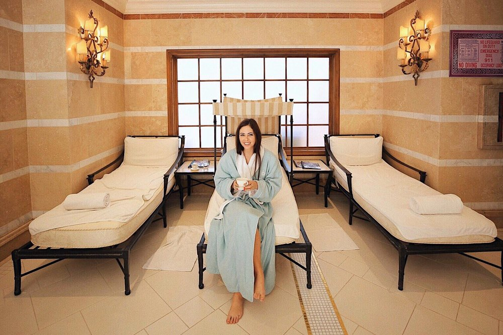 Relaxing at the spa at the Fairmont Grand Del Mar, per Le Club AccorHotel's Seeker Profile quiz recommendation!