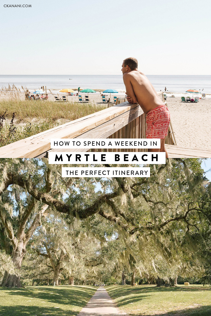 If you are searching for the perfect place in South Carolina to spend a weekend, then look no further! Myrtle Beach is it. Here's the perfect itinerary for your visit. #mymyrtlebeach #discoversc