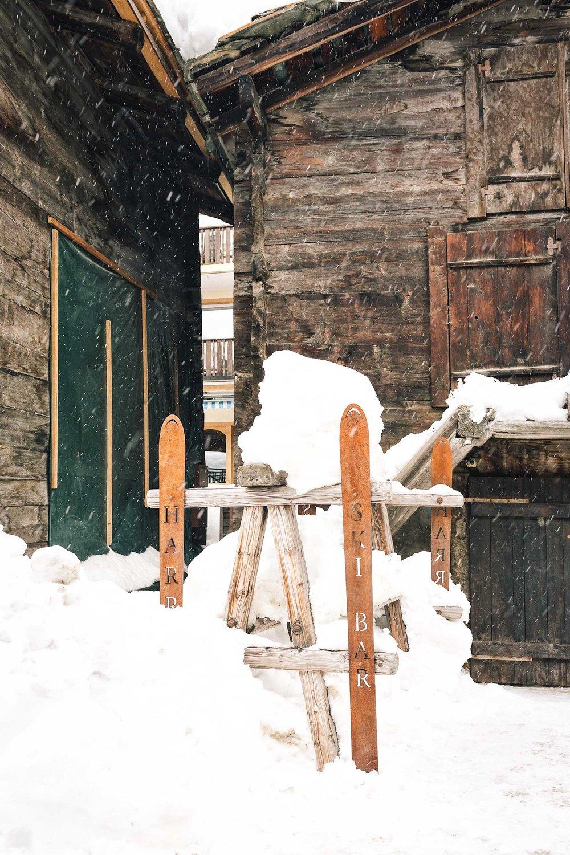 Harry's Ski Bar in Zermatt, Switzerland