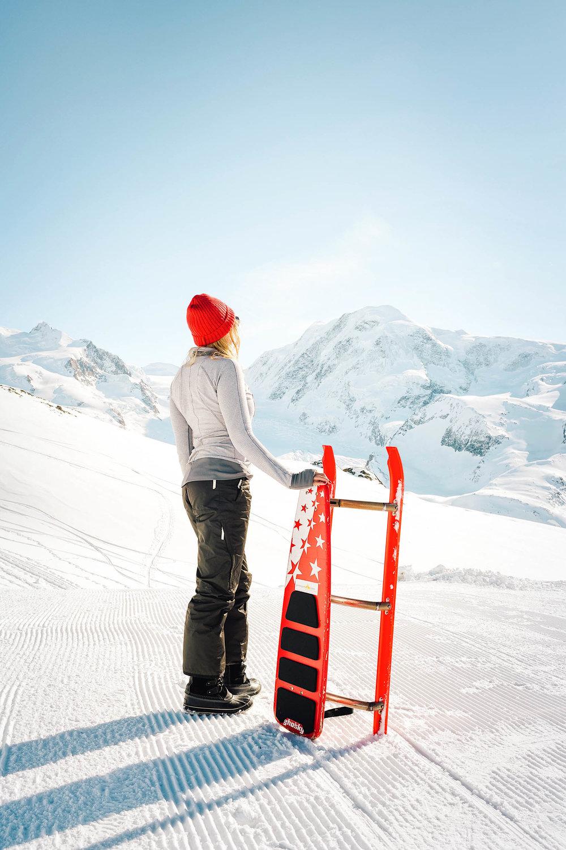 What to do in Zermatt: Tobogganing!