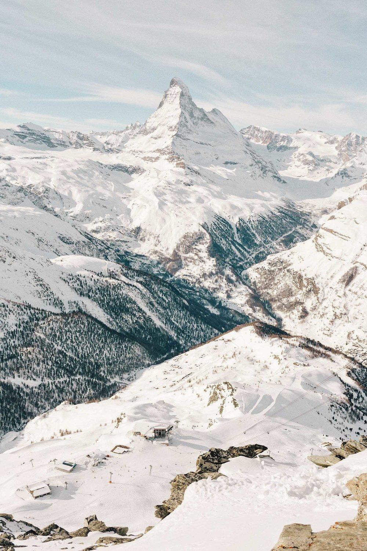 The world famous Matterhorn!